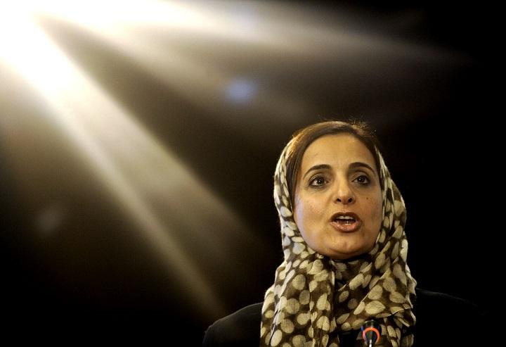Top 10 Most Powerful Arab Women 2015 Sheikha Lubna Al Qasimi