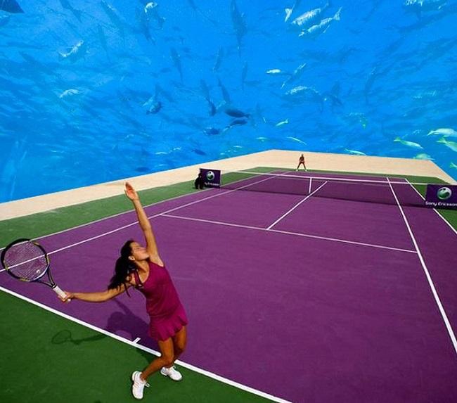Underwater-Tennis-4  Underwater tennis complex in Dubai Underwater Tennis 41