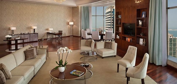 22bmeliadoha-amirisuitelivingroom  Top 5 Luxury Suites in Qatar 22bmeliadoha amirisuitelivingroom