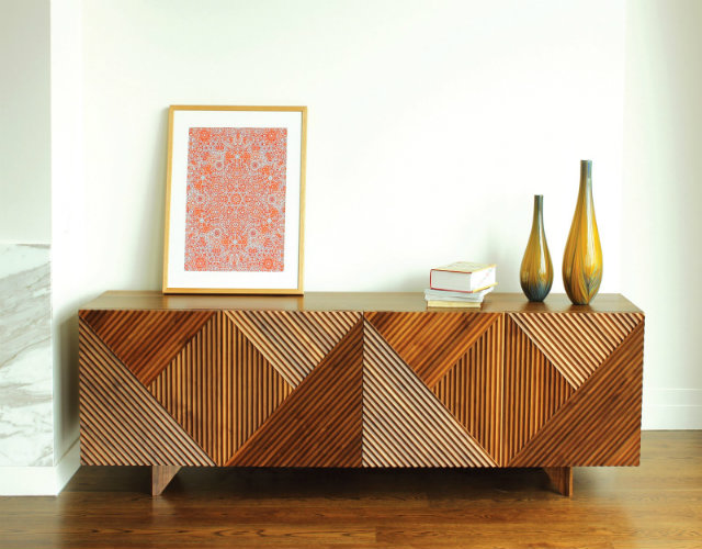 Top 17 contemporary side boards for a living room  Top 17 Contemporary Side Boards For a Living Room 2 TOP 50 MODERN SIDEBOARDS enzo sideboard american walnut Rosanna Ceravolo Design