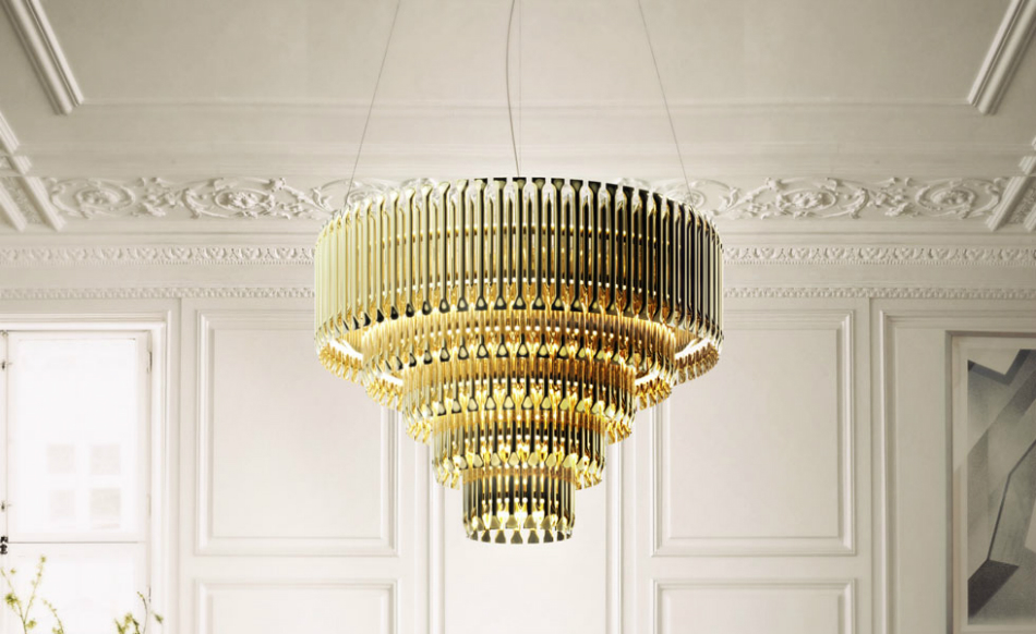 10 Modern Suspension Lamps for a luxury living room features