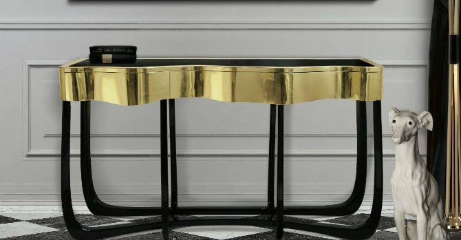 Glamorous  Console Tables for Home Decor