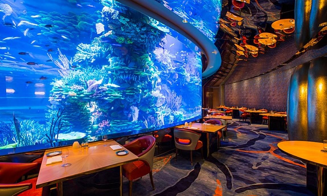 Dubai's Most Exotic Restaurants To Visit 2016 almahara 1 base