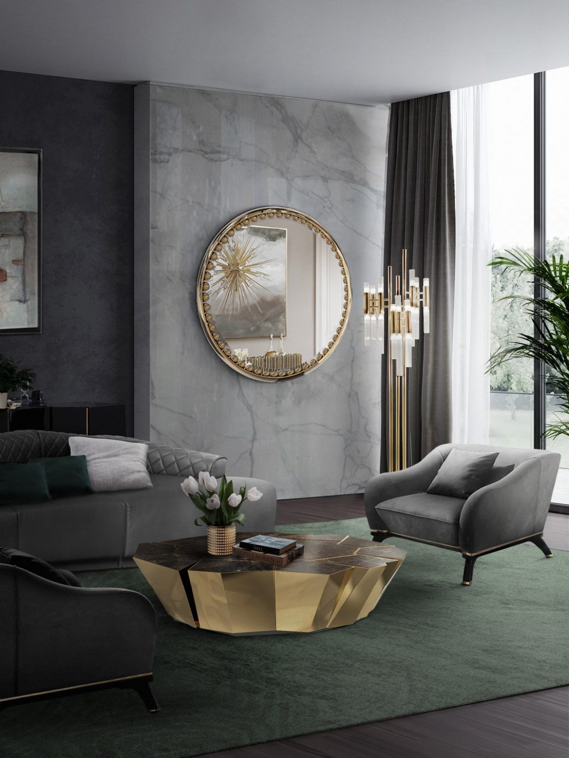 Center Tables Majestic Center Tables To Elevate Your Living Room Decor crackle 1