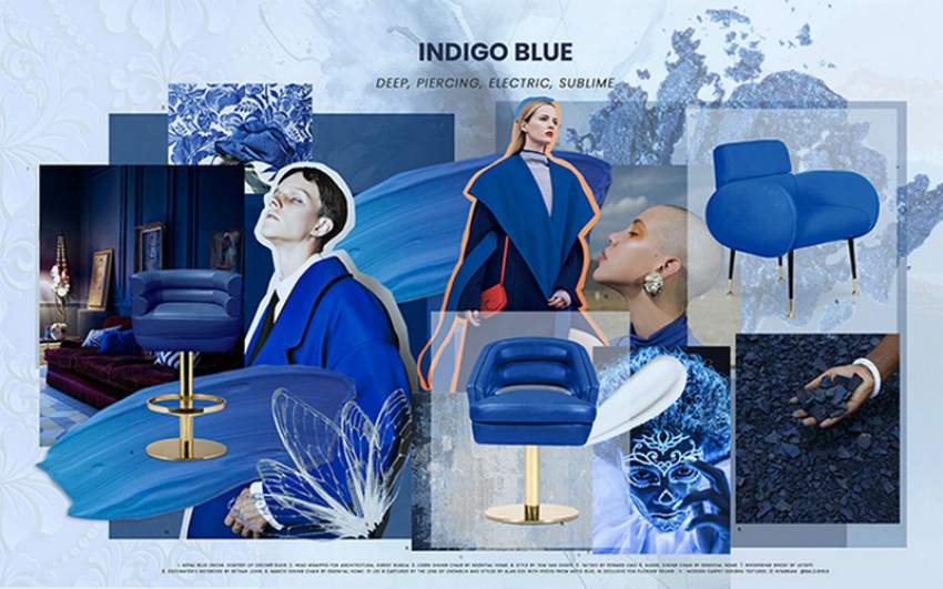 Interior Design Trends 2019 – Indigo Blue is Here to Stay Indigo Blue Is One Of The Biggest Colour Trends of 2019 1