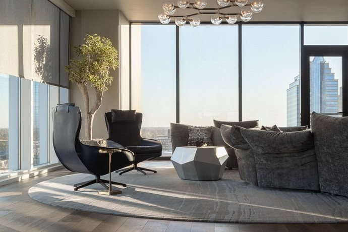 A Contemporary Penthouse by Benning Design Construction A Contemporary Penthouse by Benning Design Construction 6
