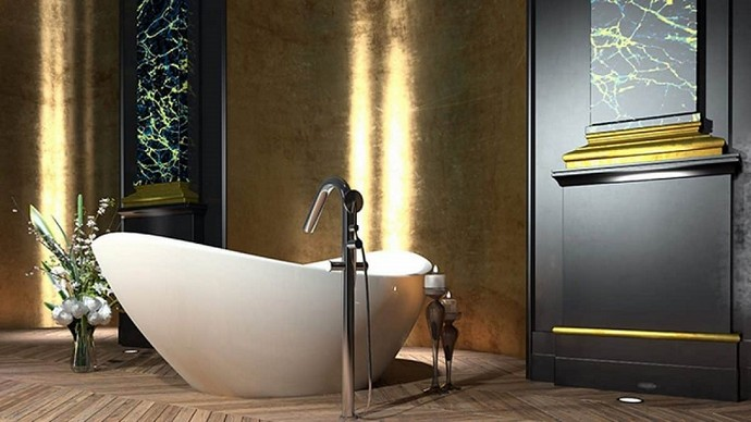 Luxury Bathroom Decor Ideas You Should Follow in 2021 Luxury Bathroom Decor Ideas You Should Follow in 2020 1