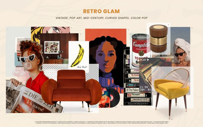 Interior Design Trends – Add the Retro Look with these Pieces Interior Design Trends Add the Retro Look with these Pieces 1